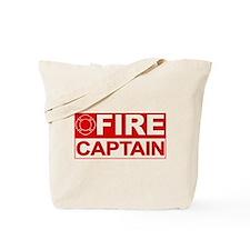 Fire Captain Tote Bag