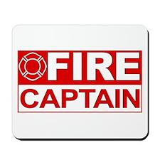 Fire Captain Mousepad