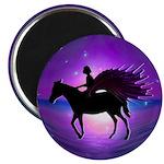 "Pegasus Myth inspirational gift 2.25"" Magnet (100"