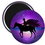 "Pegasus Myth inspirational gift 2.25"" Magnet (10 p"