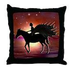 Pegasus Myth inspirational gift Throw Pillow