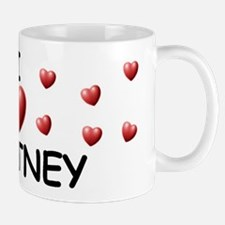 I Love Whitney - Mug