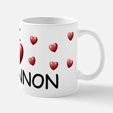 I Love Rhiannon - Mug