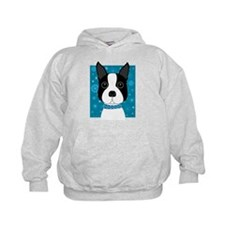 Winter Boston Terrier Hoodie