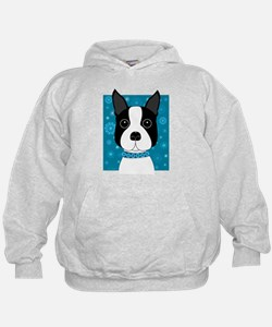 Winter Boston Terrier Hoody