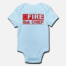 Fire Bat. Chief Infant Bodysuit
