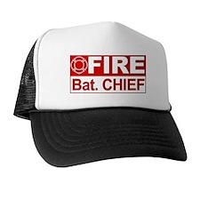 Fire Bat. Chief Trucker Hat