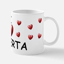I Love Roberta - Mug