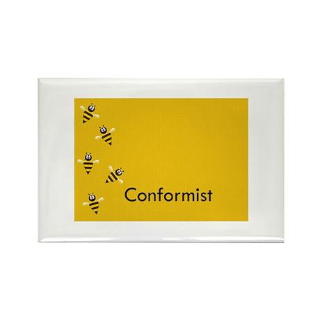 Conformist Rectangle Magnet (100 pack)