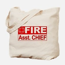 Fire Assistant Chief Tote Bag