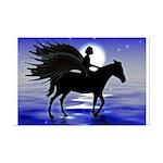 Pegasus Myth inspirational Mini Poster Print