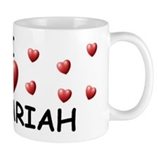 I Love Zachariah - Small Mug