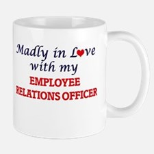 Madly in love with my Employee Relations Offi Mugs