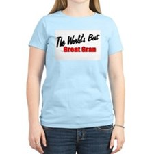 """The World's Best Great Gran"" T-Shirt"