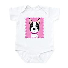Boston Terrier Cutie Infant Bodysuit