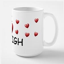 I Love Ryleigh - Large Mug