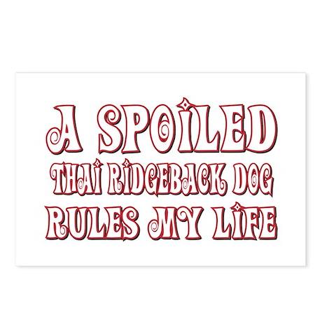 Spoiled Ridgeback Postcards (Package of 8)