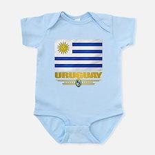 Uruguay Flag Body Suit