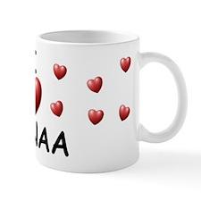 I Love Sanaa - Small Mug