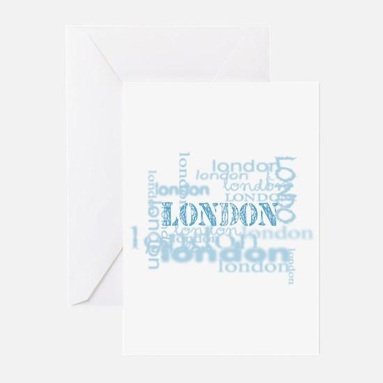 london display Greeting Cards (Pk of 10)