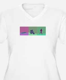 TRIATHLON SILHOUTTE WARM T-Shirt