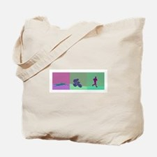 TRIATHLON SILHOUTTE WARM Tote Bag