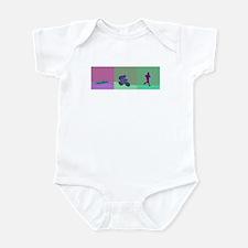 TRIATHLON SILHOUTTE WARM Infant Bodysuit