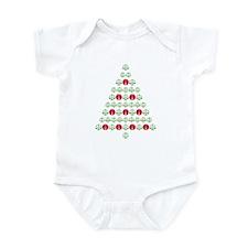 Lawyer's Christmas Tree Infant Bodysuit