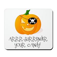 Pirate Pumpkin Mousepad
