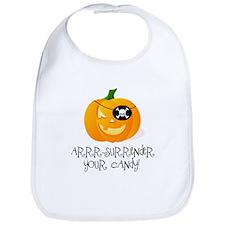 Pirate Pumpkin Bib
