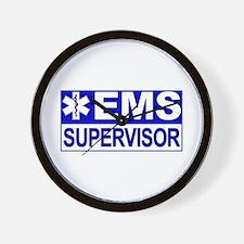EMS Supervisor Wall Clock