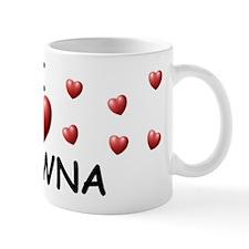 I Love Shawna - Mug