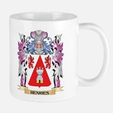 Henries Coat of Arms (Family Crest) Mugs