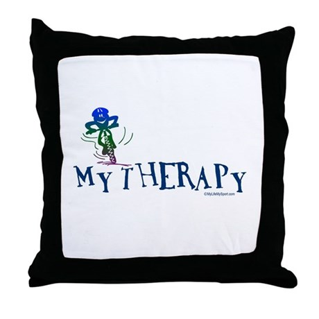 MY THERAPY Throw Pillow