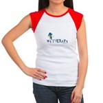 MY THERAPY Women's Cap Sleeve T-Shirt
