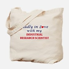 Madly in love with my Industrial Research Tote Bag