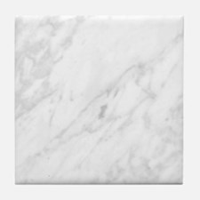 White Marble Tile Coaster