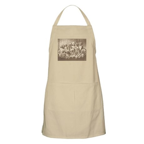 Little Wound and Chiefs BBQ Apron