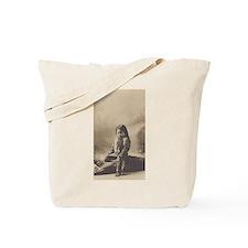 John Lone Bull Tote Bag
