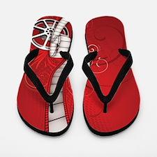 FILM REEL Flip Flops