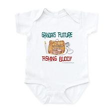 Grandpa's Future Fishing Budd Infant Bodysuit