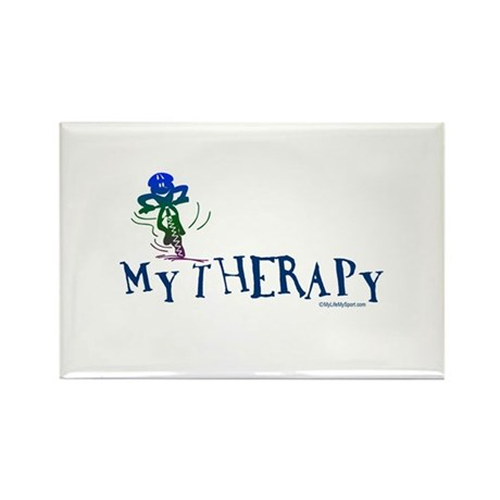 MY THERAPY Rectangle Magnet (100 pack)