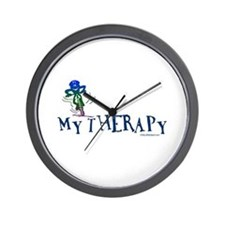 MY THERAPY Wall Clock