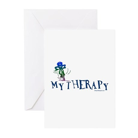 MY THERAPY Greeting Cards (Pk of 20)