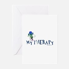 MY THERAPY Greeting Cards (Pk of 10)