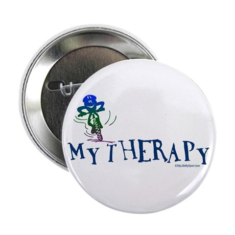 """MY THERAPY 2.25"""" Button (100 pack)"""