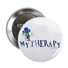 """MY THERAPY 2.25"""" Button"""