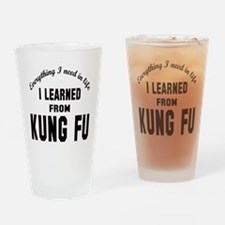 I learned from Kung-fu Drinking Glass