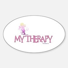 MY THERAPY Oval Decal