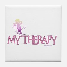 MY THERAPY Tile Coaster